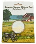 Battle Of Gettysburg Military Park Collectors Coin